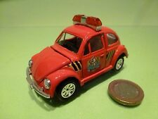 CHINA VINTAGE VW VOLKSWAGEN BEETLE FIRE BRIGADE- RED L9.0cm - GOOD CONDITION