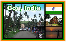 GOA, INDIA - SOUVENIR NOVELTY FRIDGE MAGNET - BRAND NEW - GIFT / XMAS