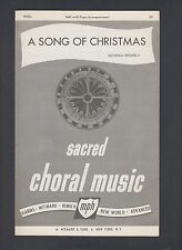 Whitman Twombly A Song of Christmas for Organ Sheet Music