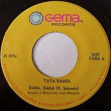 TATA RAMOS: DAMA, DAMA rare LATIN 45 on GEMA super
