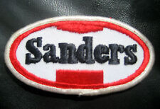 "WILEY SANDERS EMBROIDERED SEW ON PATCH TRUCK COMPANY ADVERTISING 4"" x 2"""