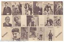 AK Radrennen - Berühmte Rennfahrer - Verlag Franz Martin -- um 1910