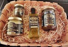 Trüffel Set Präsentkorb echte Trüffel + Trüffelbutter Trüffelöl Tapenade ITALIEN