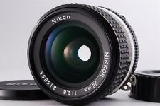=EXC+++CLEAR OPTICS= Nikon Nikkor Ai-S AIS 28mm f/2.8 MF Lens from Japan#k11