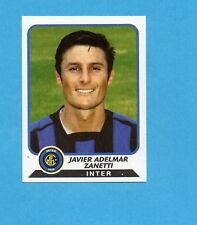 PANINI CALCIATORI 2003-04- Figurina n.132- J.ZANETTI - INTER -NEW