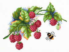 Cross Stitch Kit Raspberries