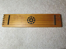 HARP OF AEOLUS WOODEN WINDOW HARP by WOODSTOCK CHIMES vtg 1990s AEOLIAN WIND