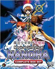 Magical Girl Lyrical Nanoha DVD (Season 1- 3 + 2 Movie) + Vivid (English Sub)
