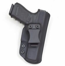 Badger State Holsters- Glock 19/23/32 IWB Black Custom Kydex Holster G19 G23 G32