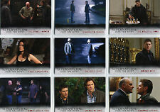Supernatural Seasons 4 to 6 Notable Locations Complete 9 Chase Card Set