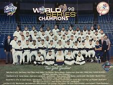 "1998 New York Yankees 8"" x 10"" Team Photo"