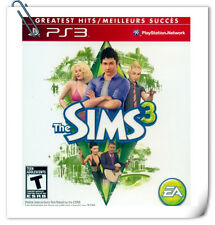 PS3 SONY PlayStation THE SIMS 3 Electronic Arts Simulation