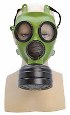 ADULT REALISTIC GAS MASK FANCY DRESS COSTUME ACCESSORY