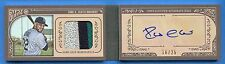 ROBINSON CANO 2015 TOPPS GYPSY QUEEN AUTO MINI PATCH BOOK 16/25 3 COLOR MARINERS