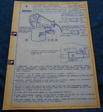 Ferrari Circolare Tecnica 365 GTB/C4 #196 Blueprint 1972 no brochure book buch