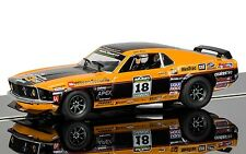 C3671 Scalextric Slot Car Ford Mustang Boss 302 1969 - John Bowe 2011 Brand New