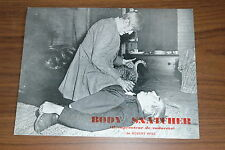 BELA LUGOSI BORIS KARLOFF THE BODY SNATCHER 1945 RARE SYNOPSIS RERELEASE 70s