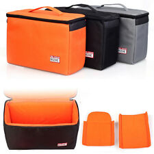 Waterproof DSLR SLR Camera Insert Partition Padded Bag Removable Divider Pouch