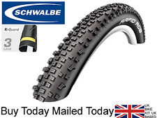 Schwalbe Rapid Rob 29er Bike Tyre 29 x 2.25 Inch 57-622 AntiPuncture K-Guard