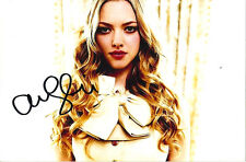 Amanda Seyfried Signed 4 x 6 Photo