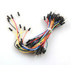 65Pcs Flexible Solderless Male - Male Breadboard Jumper Cable Wires For Arduino