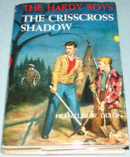 Hardy Boys #32 The Crisscross Shadow Orig Text DJ