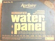 10 PACK Aprilaire #35 Humidifier Water Panel fits #'s 600, 600A and 600M OEM 35