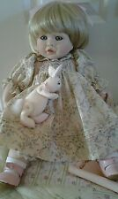 Pauline bjonness jacobsen Porcelain Doll Tiffany