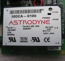 ASTRODYNE MDCA-0108 ENCAPSULATED POWER SUPPLY 5VDC/12VDC ON BOARD