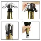 Reusable Stainless Steel Champagne Seal Wine Beer Bottle Cap Stopper Plug Sealer