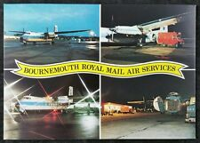 Post Office Postcard: Bournemouth Royal Mail Air Services Multiview SWPR10