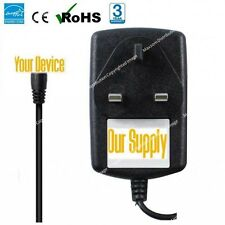 "UK Power Adapter for 7"" MID VIA 8650 Android EPAD APAD Tablet PC Mains Charger"