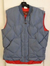 VINTAGE WALLS BLIZZARD-Down Robin Blue Fall Large Women's Cool Weather vest