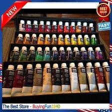 Set Paint Tube Basics Liquitex Acrylic 48 Piece Art Painting Color Mixing Pro