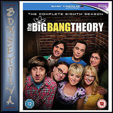 THE BIG BANG THEORY - COMPLETE SEASON 8 - EIGHTH SEASON **BRAND NEW BLU-RAY **