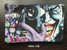 The Joker School Pencil Case Stationery Cosmetic Storage Make-up Bag New