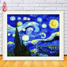 YGS-110 Diamond Painting Cross Stitch Kits Embroidery Van Gogh's sky