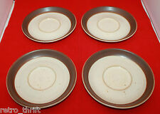 Ikea Karat By Denby  Stoneware 4 Saucers Only  Accenten Replacement Rare AS-IS