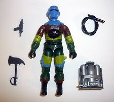 GI JOE BARBECUE Vintage Action Figure Slaughter's Marauders COMPLETE C9+ v2 1989