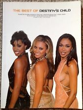 The Best Of Destinys Child Music Book Arranged For Piano Voice and Guitar