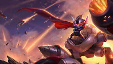 Poster 42x24 cm League Of Legends Rumble Galactico LOL