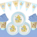 ALL ABOARD BLUE / Christening/ 1st birthday / Noahs ark ESSENTIALS Party Pack B