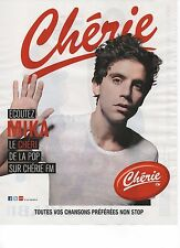 Publicité Advertising 2012 radio cherie FM MIKA