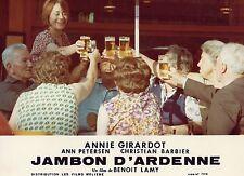 ANNIE GIRARDOT JAMBON D'ARDENNE 1977 PHOTO ANCIENNE ARGENTIQUE N°15
