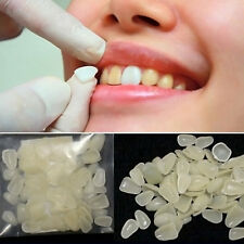 100pcs dental resin dents couronne temporaire dent Veneers ultra-mince whitening
