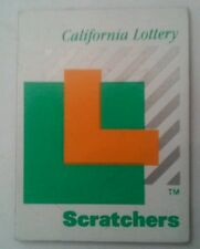 CALIFORNIA LOTTERY SCRATCHERS MAGNET!