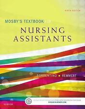 Mosby's Textbook for Nursing Assistants - Soft Cover Version 9e 2016 NEW