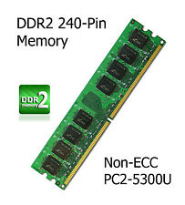 2GB Kit DDR2 Memory Upgrade Gigabyte GA-945PL-S3P Motherboard Non-ECC PC2-5300U