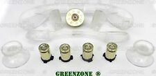 Custom Xbox 360 Controller Bullet Button Brass + Shotty + Clear  Mod kit