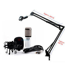 Professional Condenser Microphone Mic Studio Recording w/Arm Stand for Broa